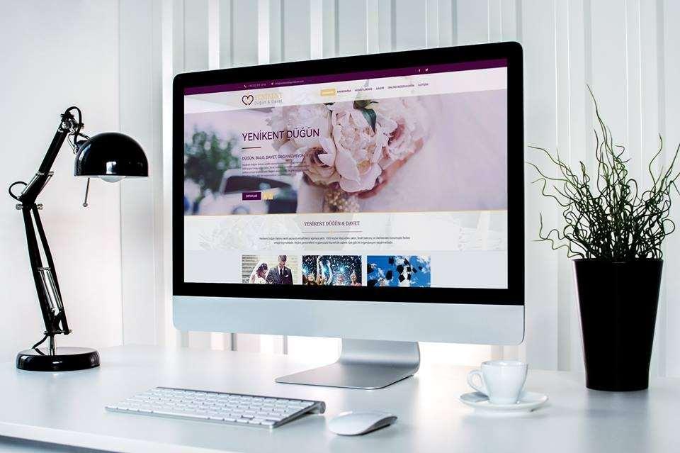 Yenikent Düğün Davet Web Tasarım