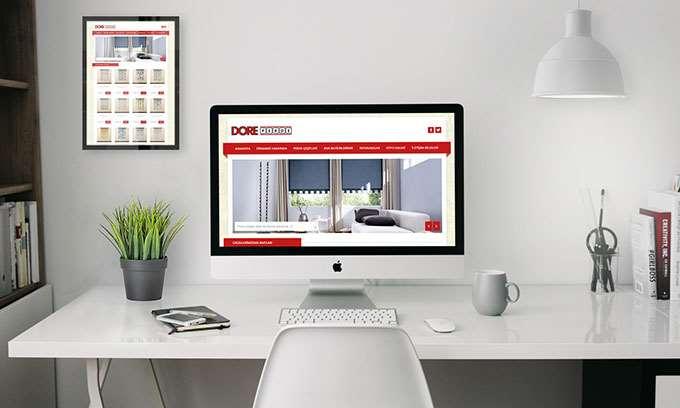 Dore Perde Web Tasarım