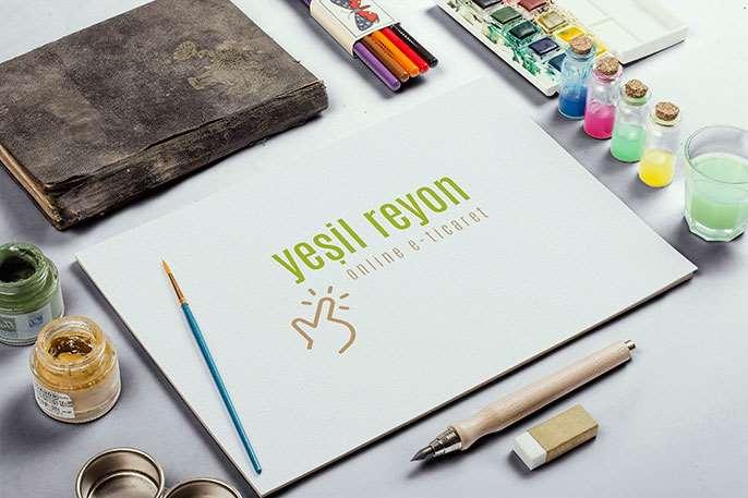 Yeşil Reyon Logo Tasarım