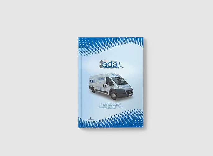 Ada Osgb Katalog Tasarımı