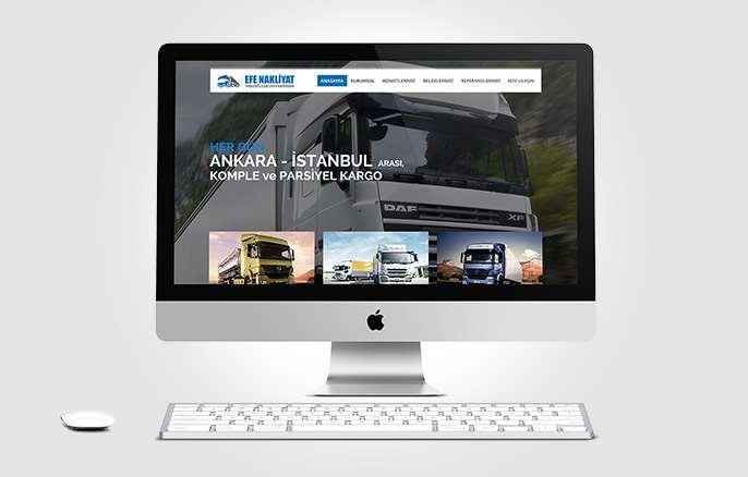 Efe Nakliye Web Tasarım