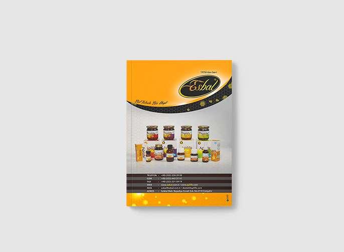 Esbal Katalog Tasarımı