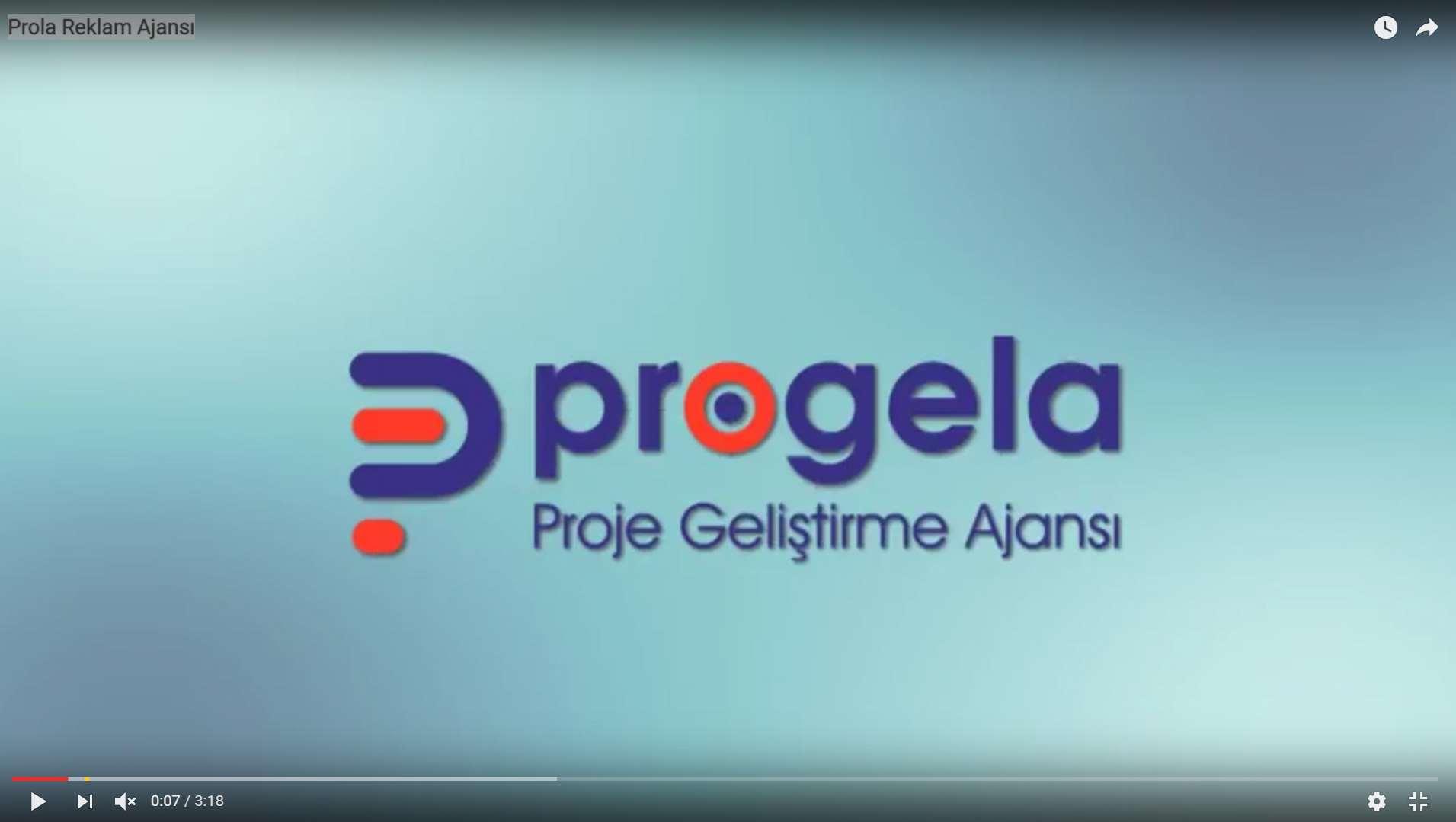 Progela Reklam Tanıtım Filmi