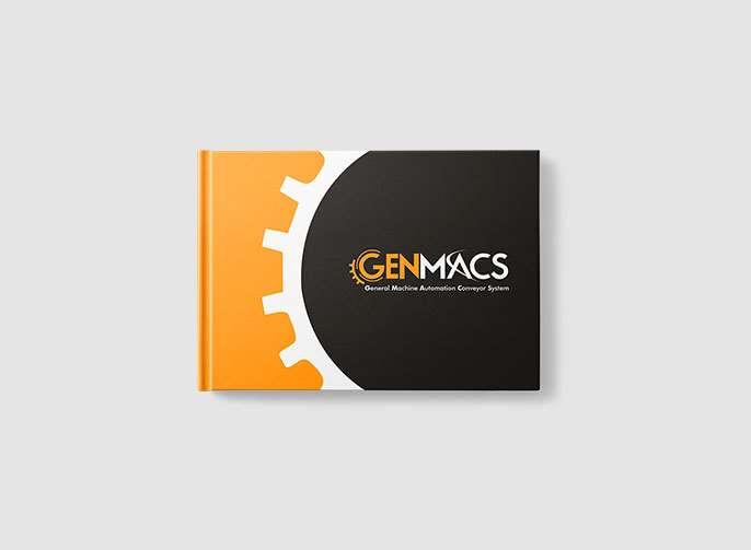 Genmacs Katalog Tasarımı
