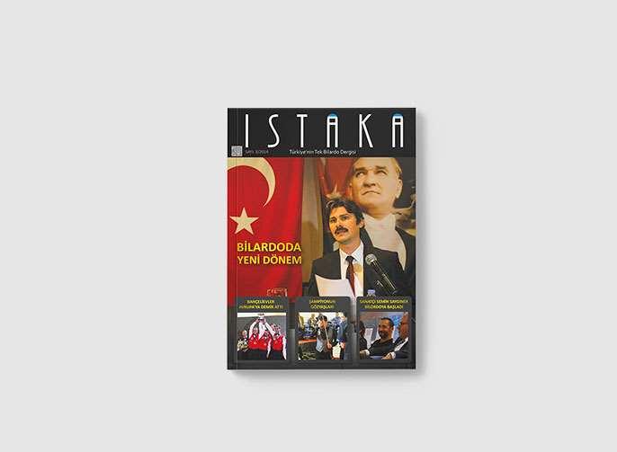 Istaka Dergisi Dergi Tasarımı
