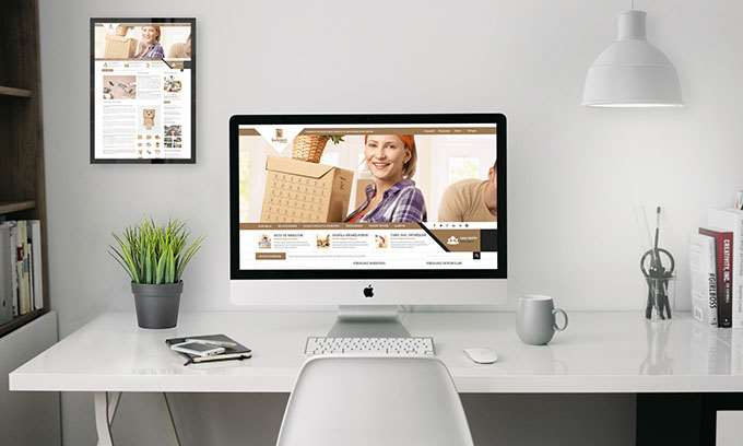 Kahveci Ambalaj Web Tasarımı