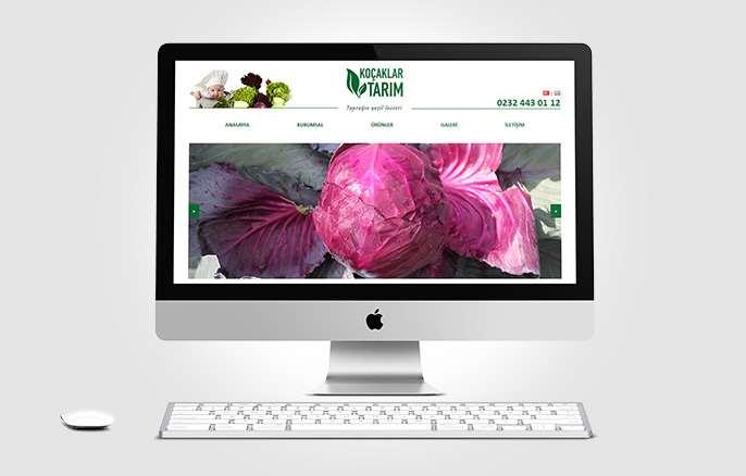 Koçaklar Tarım Web Sitesi