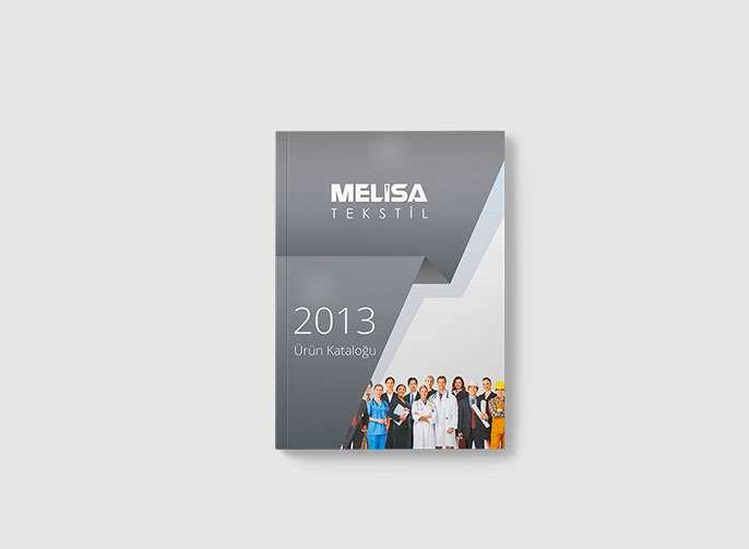 Melisa Tekstil Katalog Tasarımı