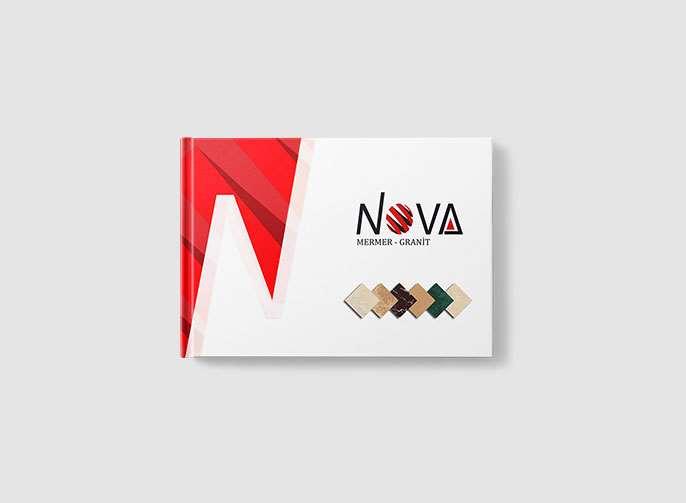 Nova Mermer Katalog Tasarımı