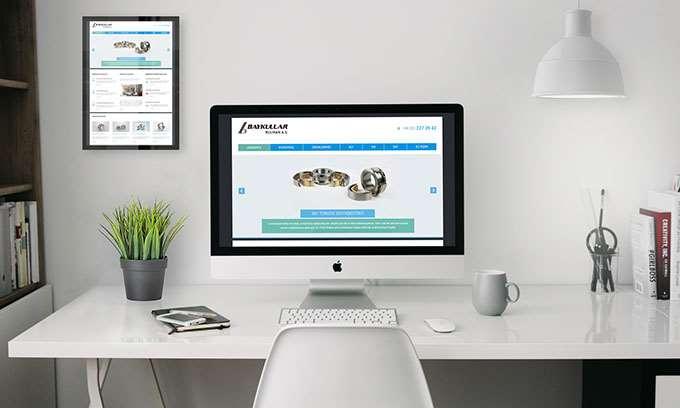 Baykullar Rulman Web Tasarımı