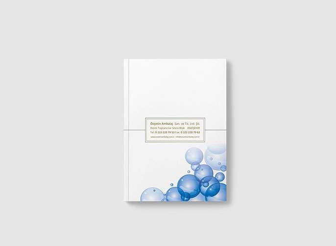 Özçetin Ambalaj Katalog Tasarımı